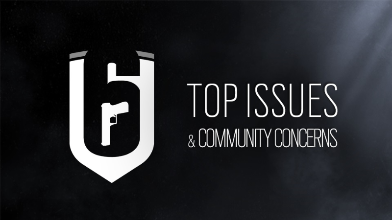 Top Issues and Community Concerns