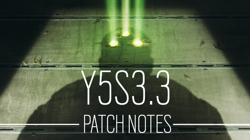 Y5S3.3 Patch Notes