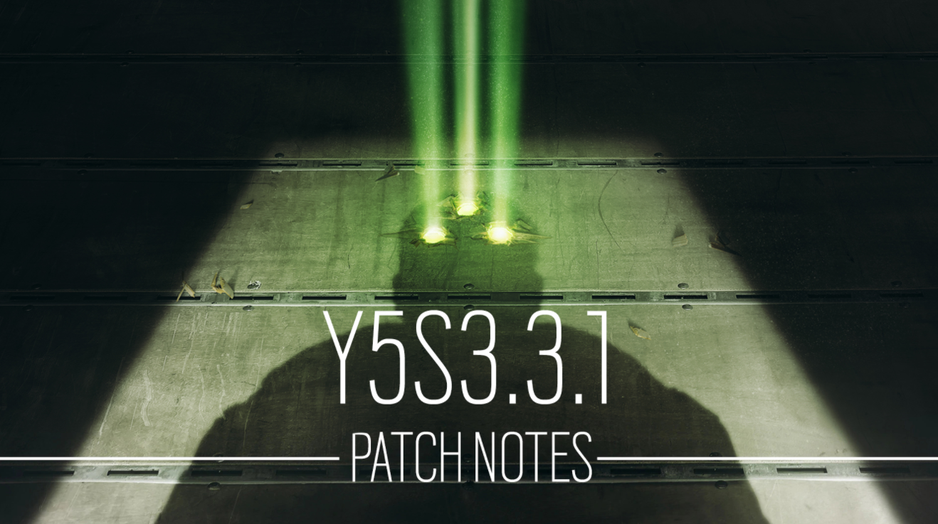Y5S3.3.1 TACHANKA COMMUNITY PATCH NOTES