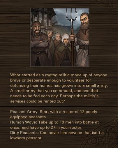 Militia Origins