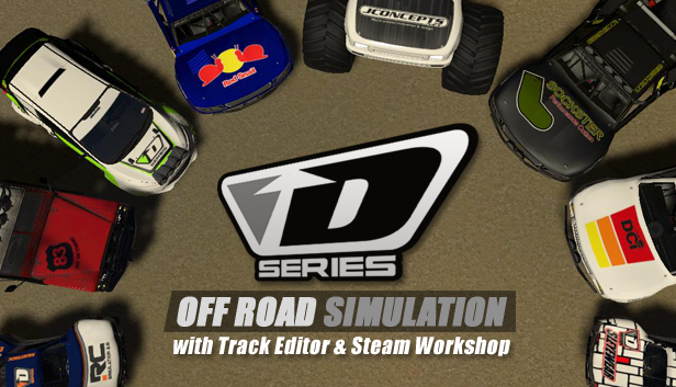 D Series OFF ROAD Driving Simulation :: New Track Editor