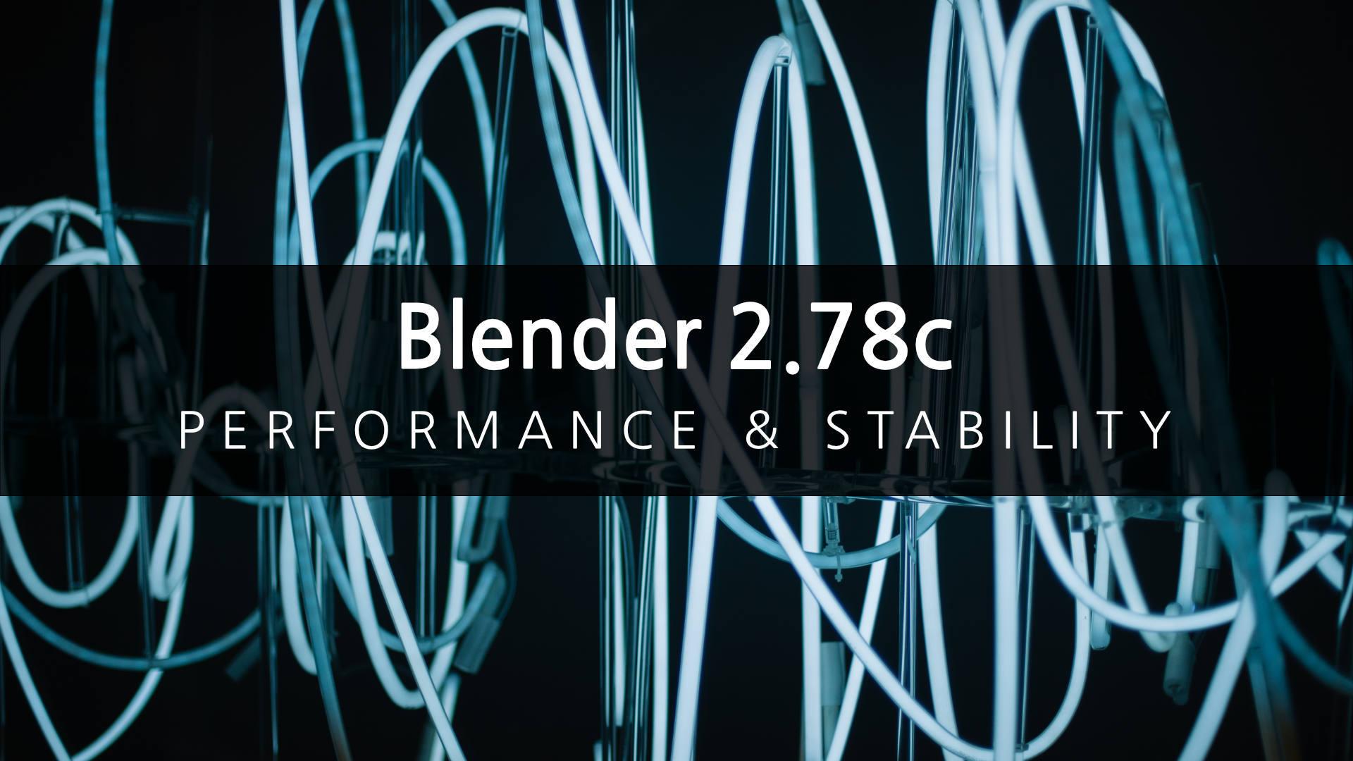 Mar 6, 2017 Blender 2 78c release now available Blender - fsiddi The