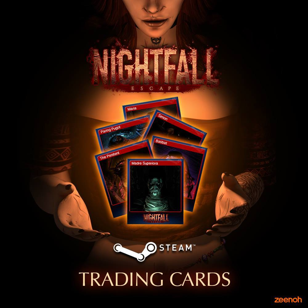 Nightfall: Escape :: NEW: Trading Cards are now available!