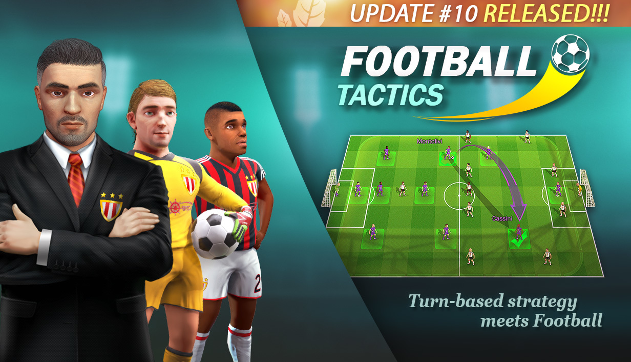 Football Tactics Glory Update 10 What S Inside