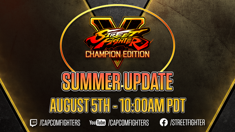 Street Fighter V Street Fighter V Summer Update Steam News