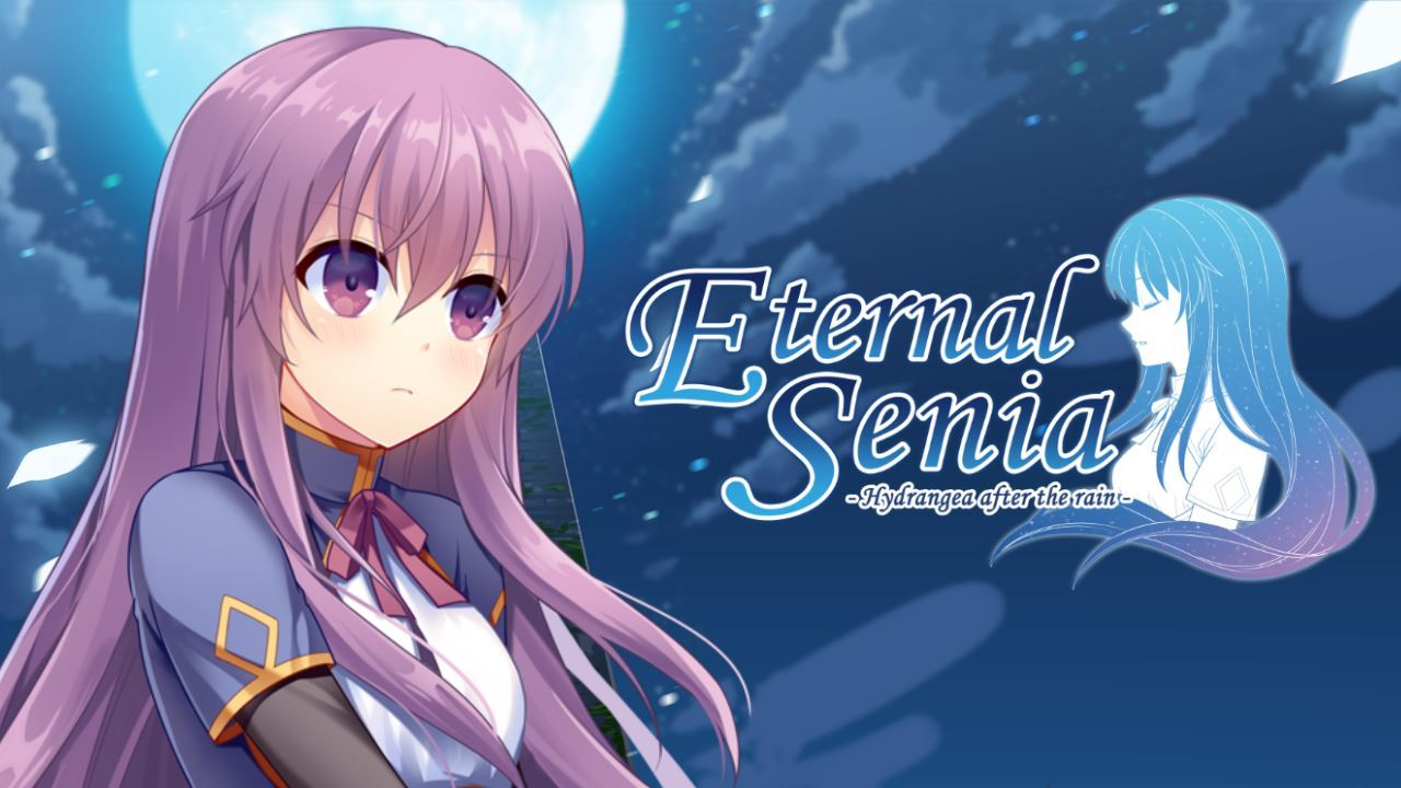 Title Screen from Eternal Senia