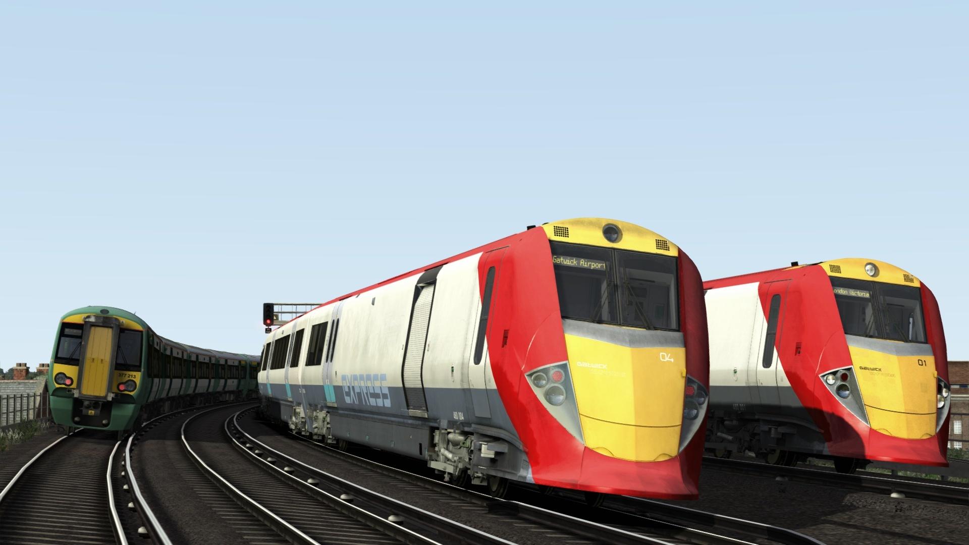 Train simulator 1
