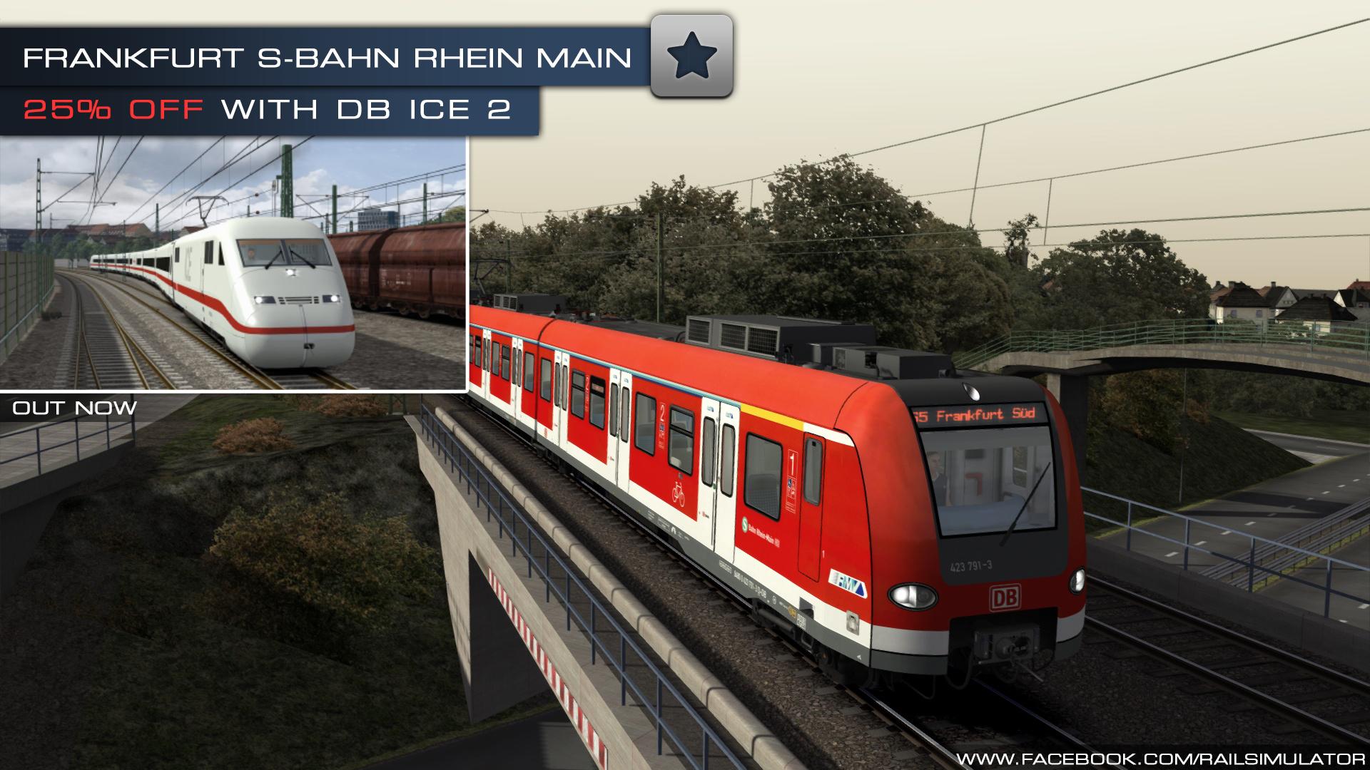 Train Simulator Out Now Frankfurt S Bahn Rhein Main Route Add On