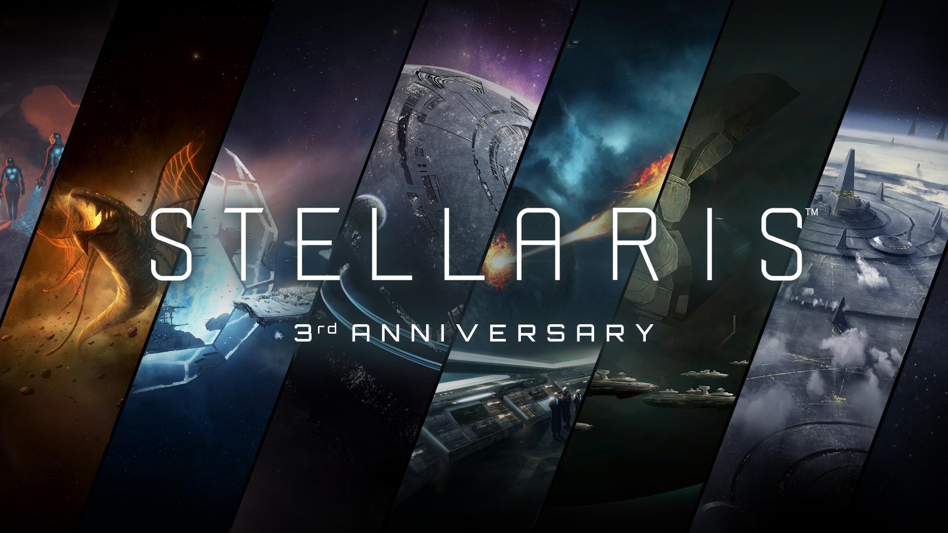 Stellaris derde verjaardag