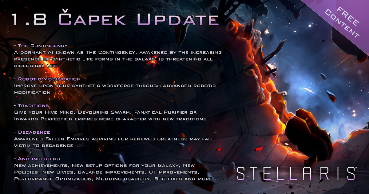 Sep 28, 2017 Stellaris Dev Diary #87: A Glimpse of the Future