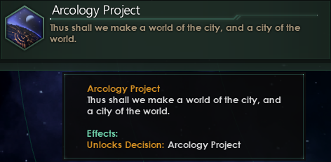 Stellaris :: Dev Diary #132 - Ecumenopolis and Megastructures