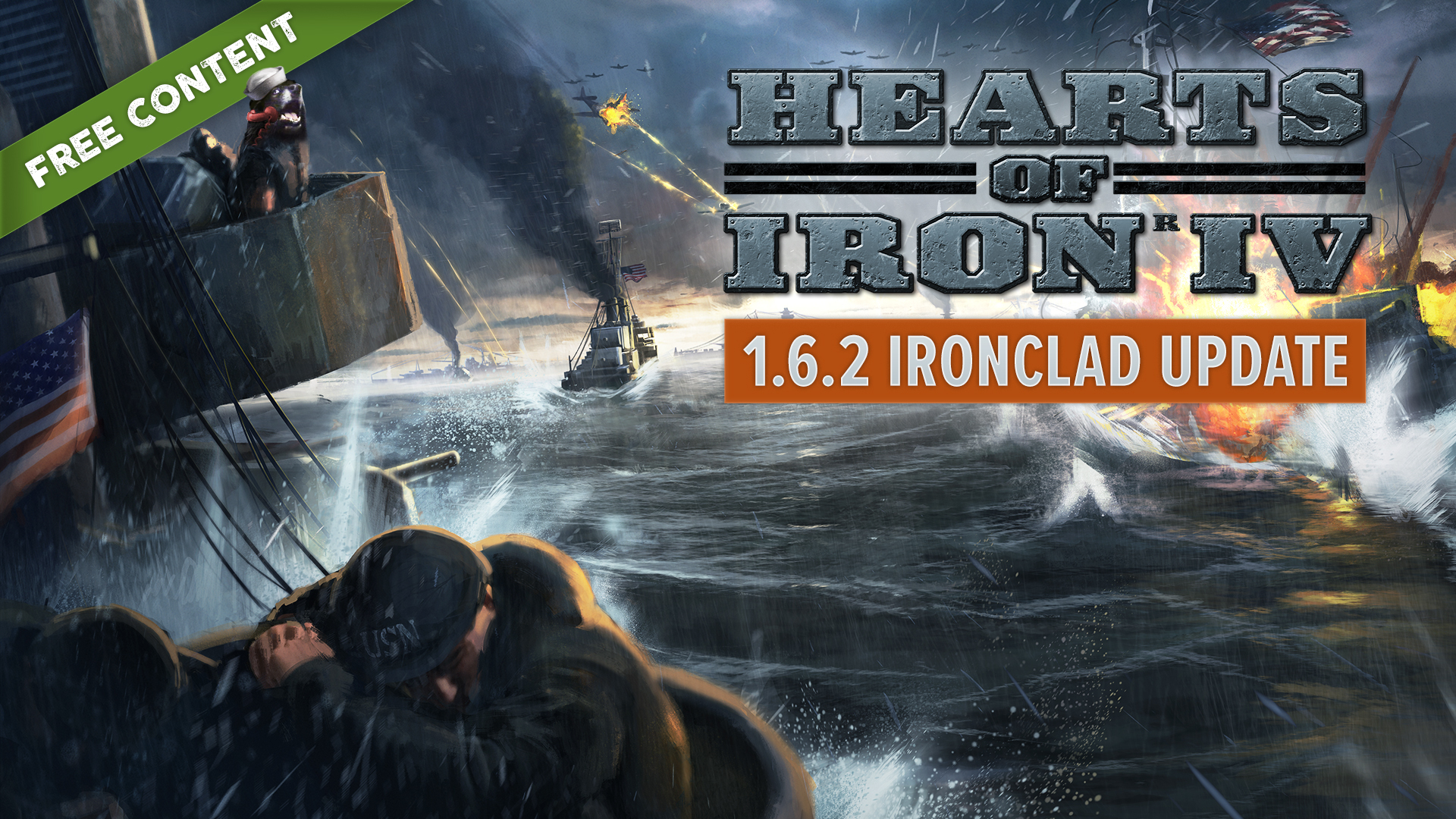 Hearts of Iron IV :: Patch 1 6 2 Ironclad is Live