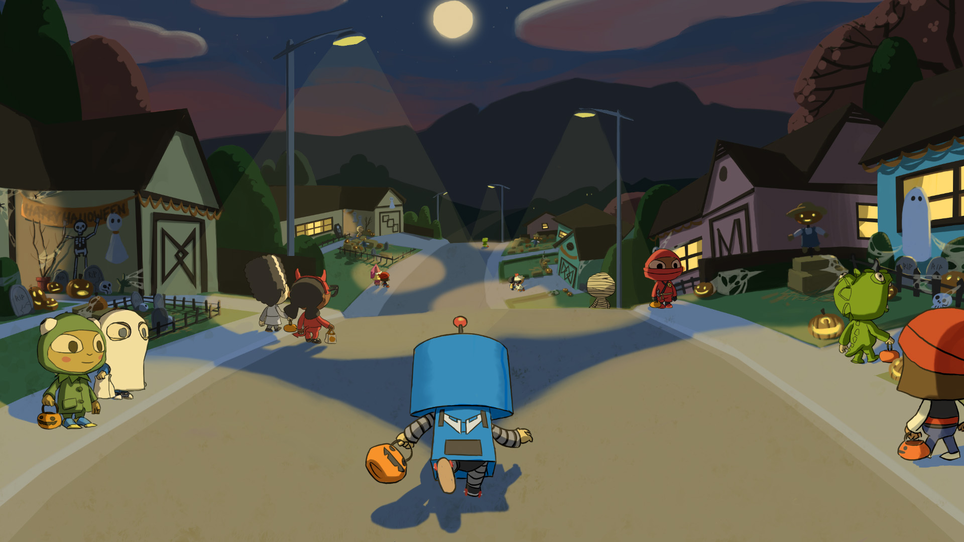 Steam card exchange showcase costume quest card 7 of 9artwork auburn pines malvernweather Image collections