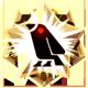 钛合金镭射乌鸦勋章