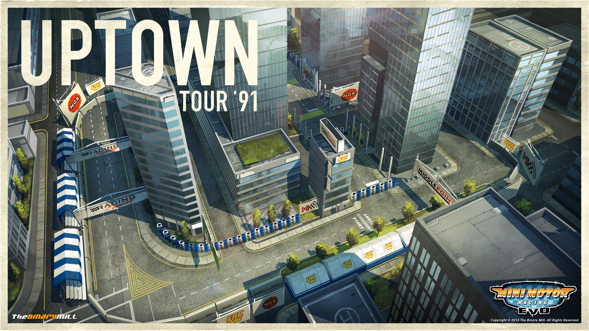Card 8 Of 8Artwork · Uptown Tour U002791