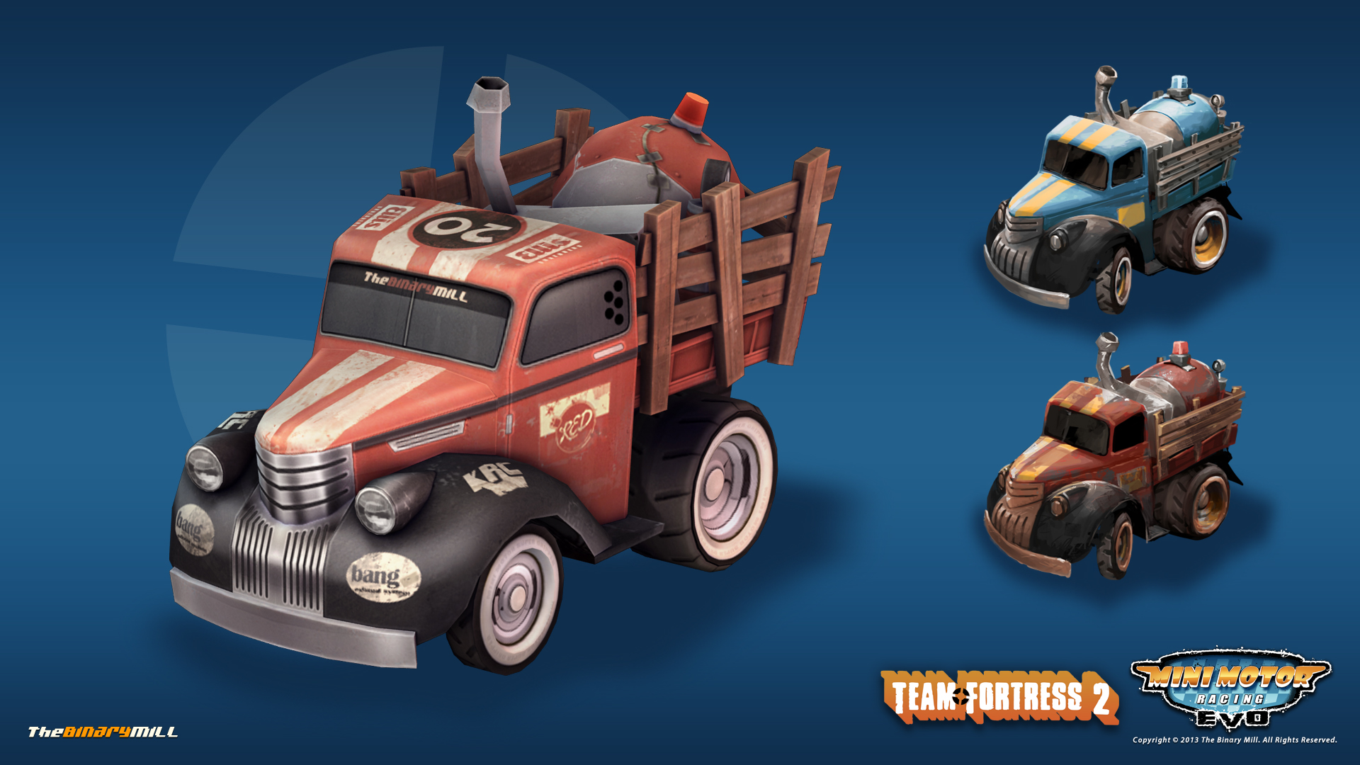 Card 4 Of 8Artwork · Team Fortress 2 Truck