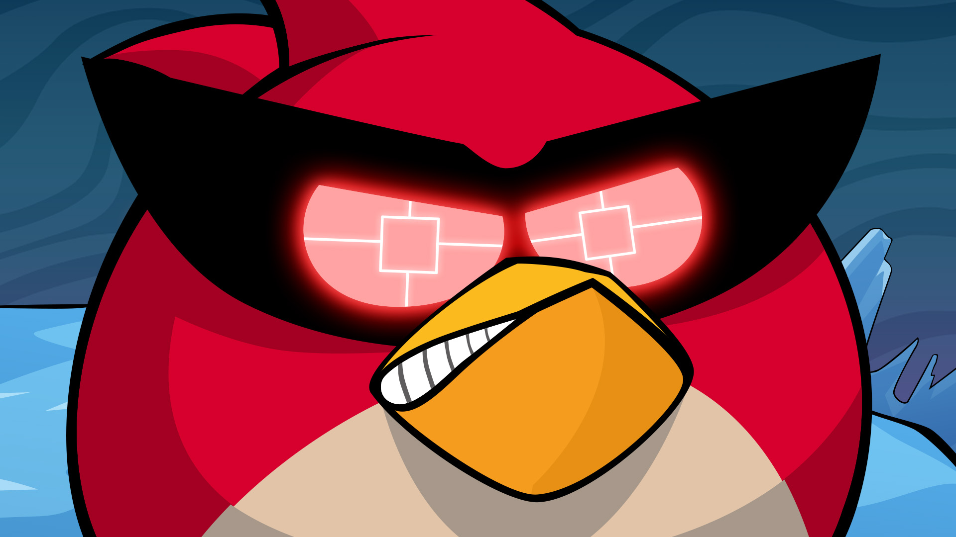 Blue Jay Clipart Angry - Angry Birds Blues Happy - Free ... | 1080x1920