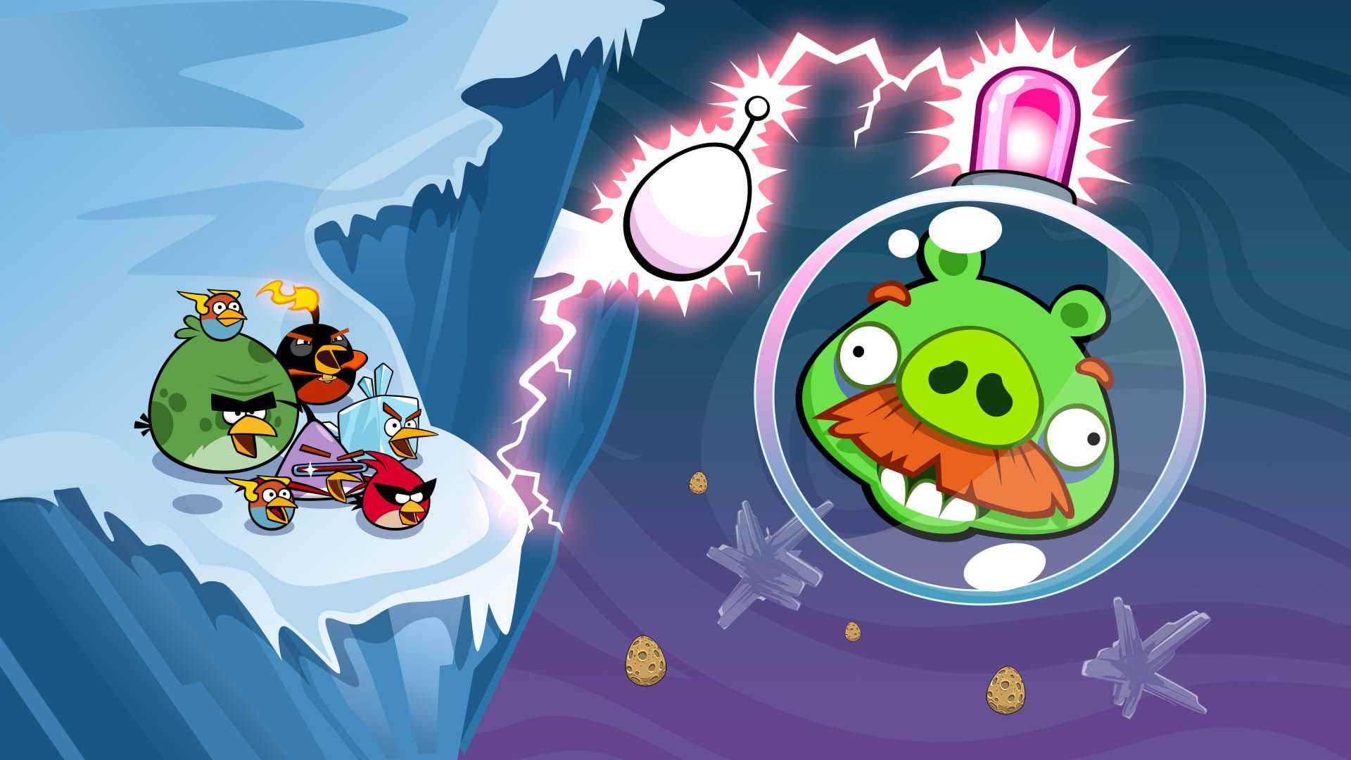 Showcase :: Angry Birds Space