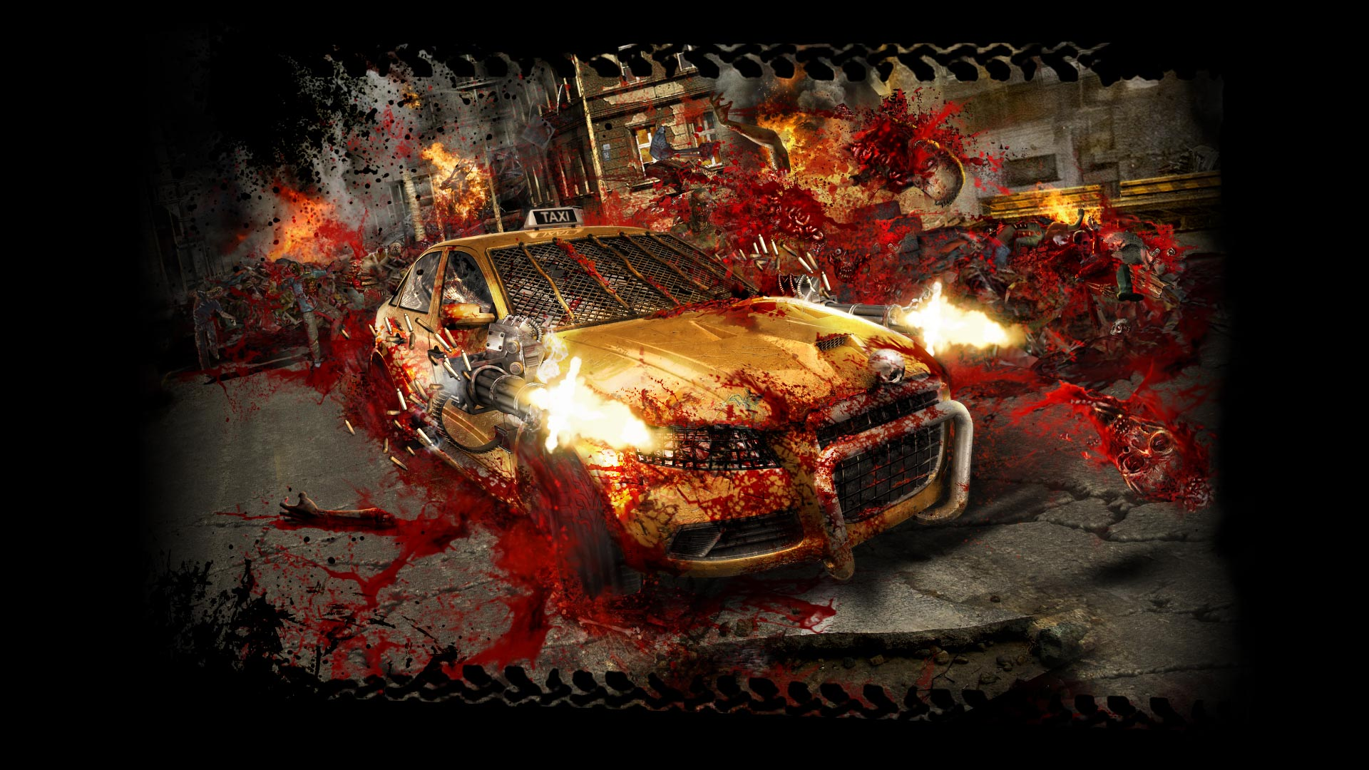 Steam Card Exchange Showcase Zombie Driver Hd Simple Circuit Board For Kids Galleryhipcom The Hippest Galleries 3 Of 6artwork Slaughter Time