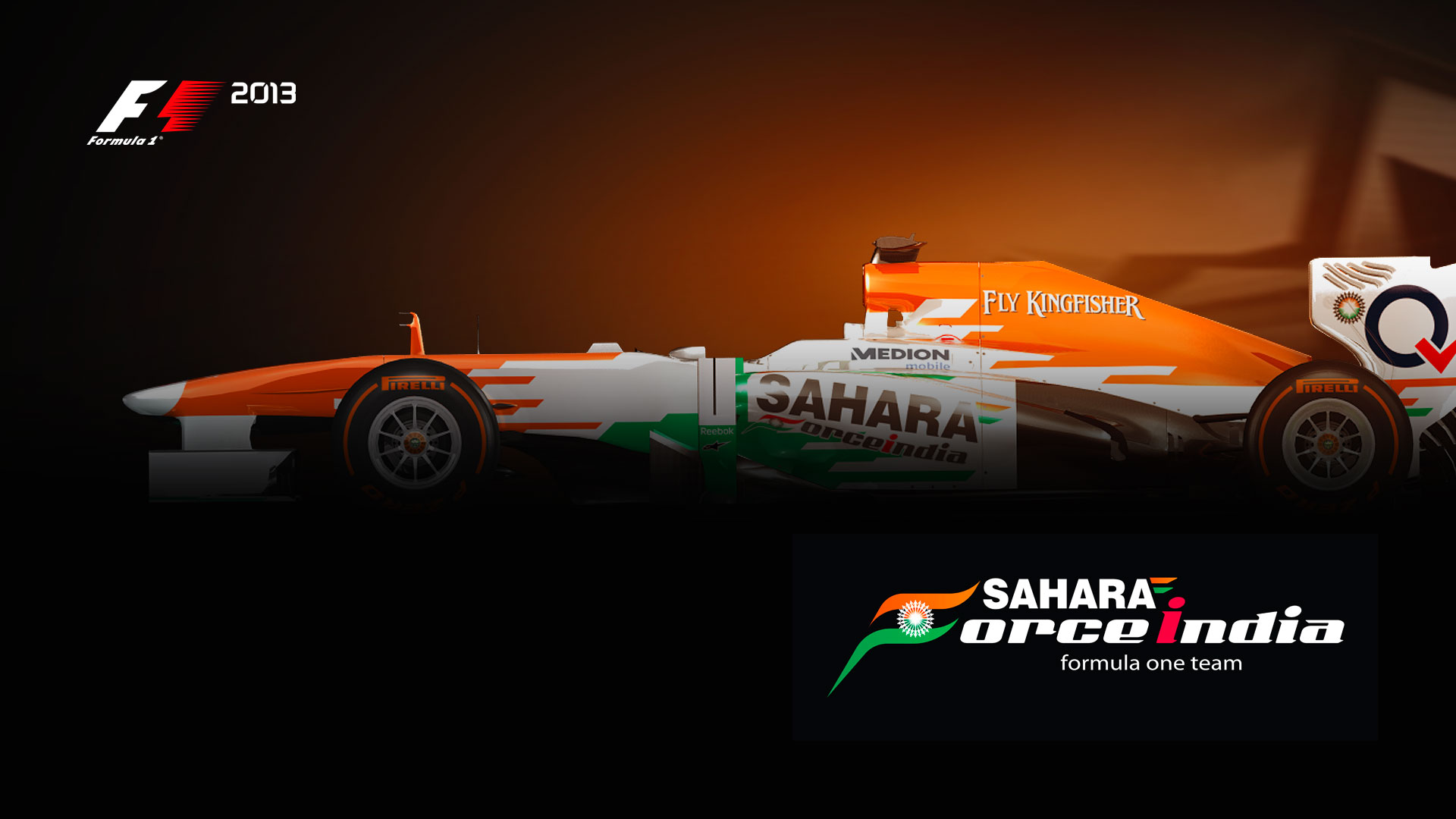 Card Artwork  C2 B7 Sahara Force India F1 Team