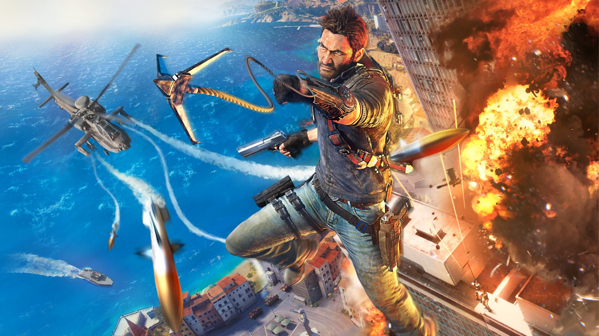 JUST CAUSE 3 COLLECTOR/'S EDITION GRAPPLING HOOK REPLICA PROP ONLY STATUE NO GAME