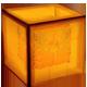 Orange Cube