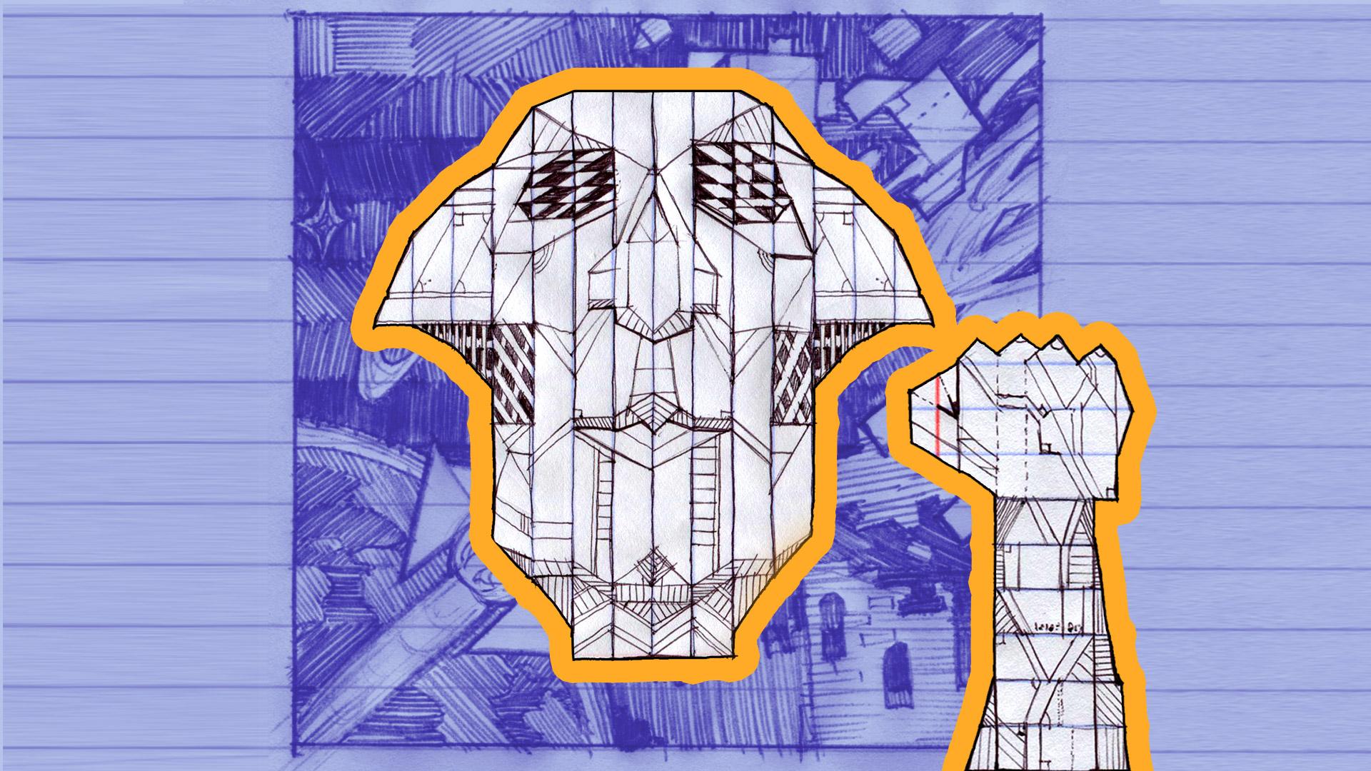 Steam Card Exchange Showcase Ballpoint Universe Infinite Baldeaglediagram Eagle Skeleton Drawing Bald Study 01 By Baron 7 Of 11artwork Logician Lord