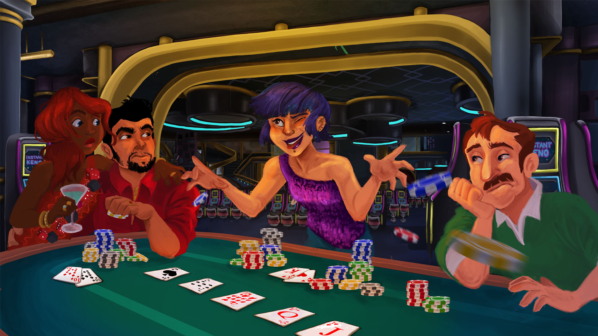 4 kings casino poker video poker