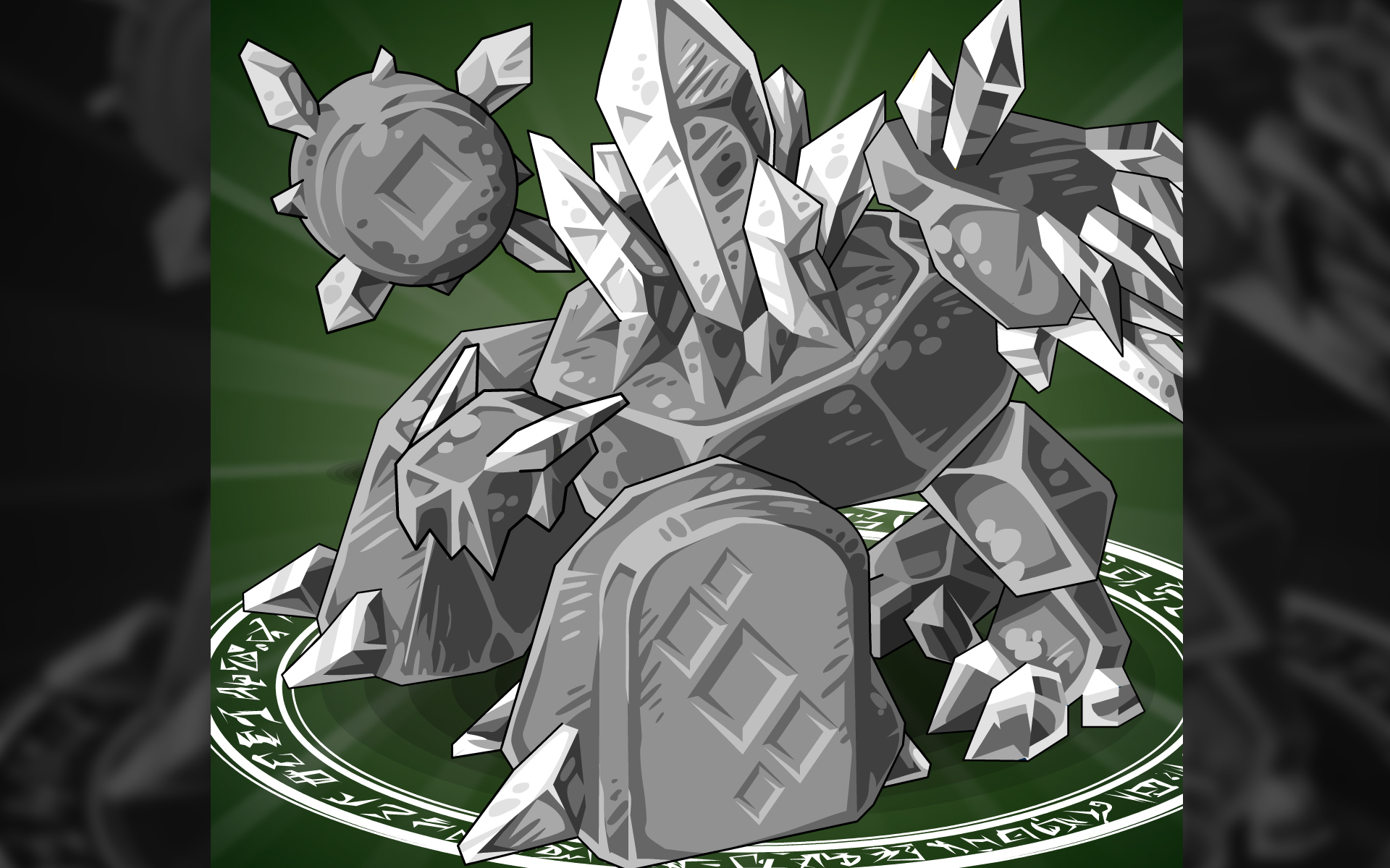 Card 8 Of 14Artwork · Diamond Golem