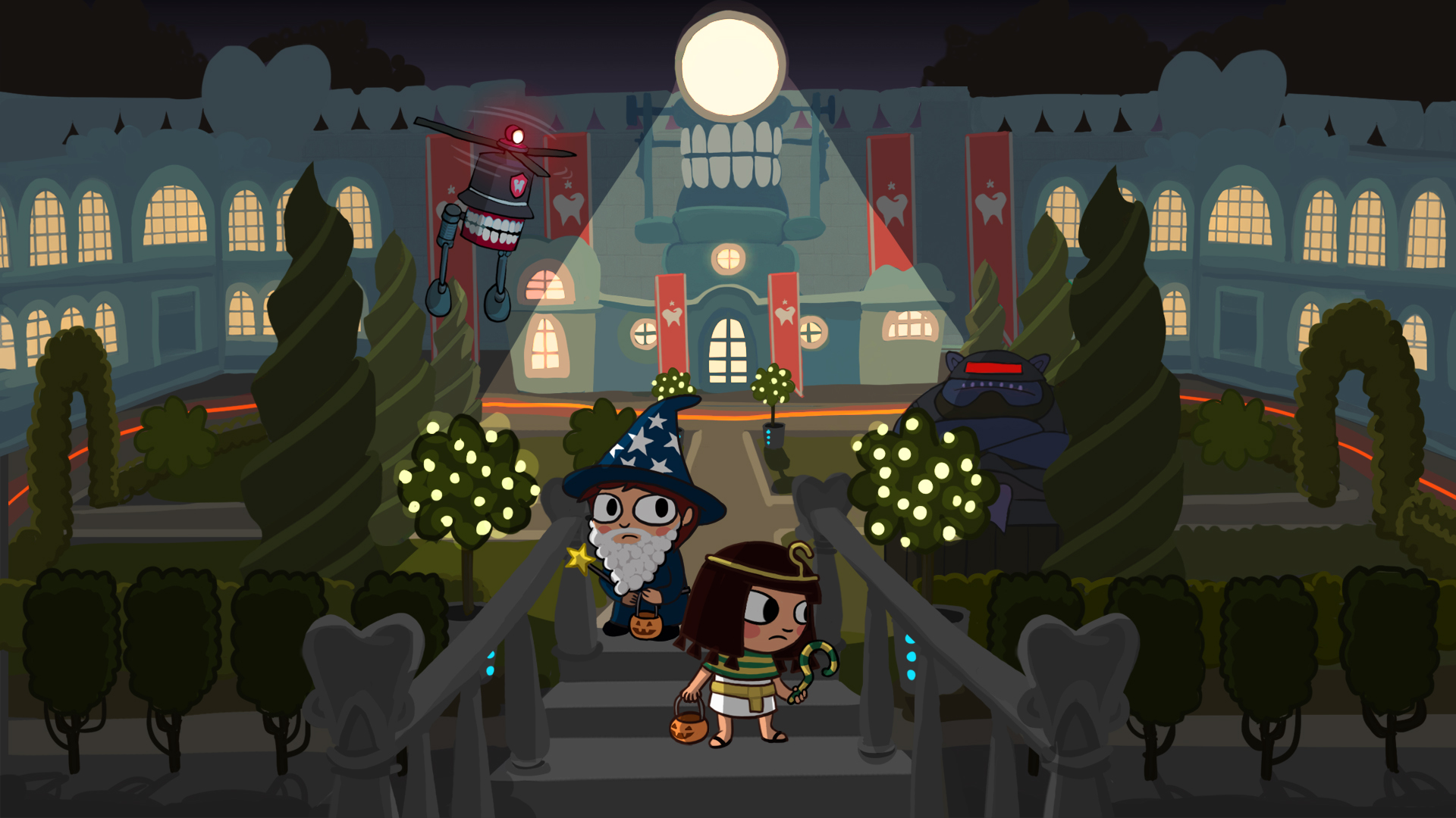 Steam card exchange showcase costume quest 2 card 3 of 9artwork dr whites inner sanctum malvernweather Image collections