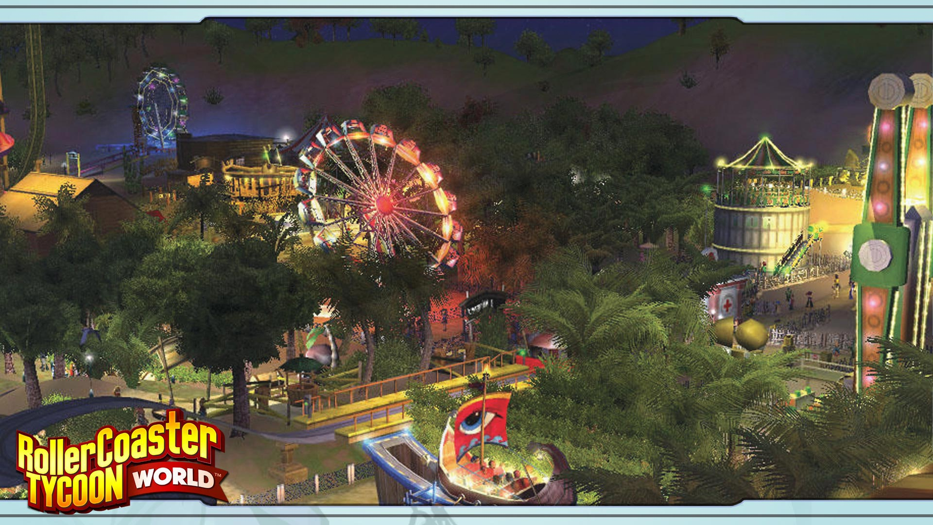 Showcase :: RollerCoaster Tycoon World