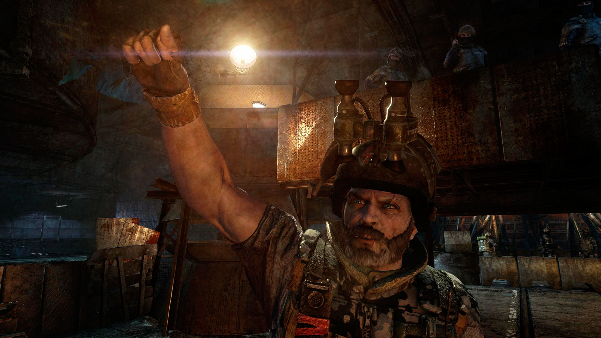 Showcase :: Metro: Last Light Redux