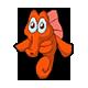 Frightened Seahorse