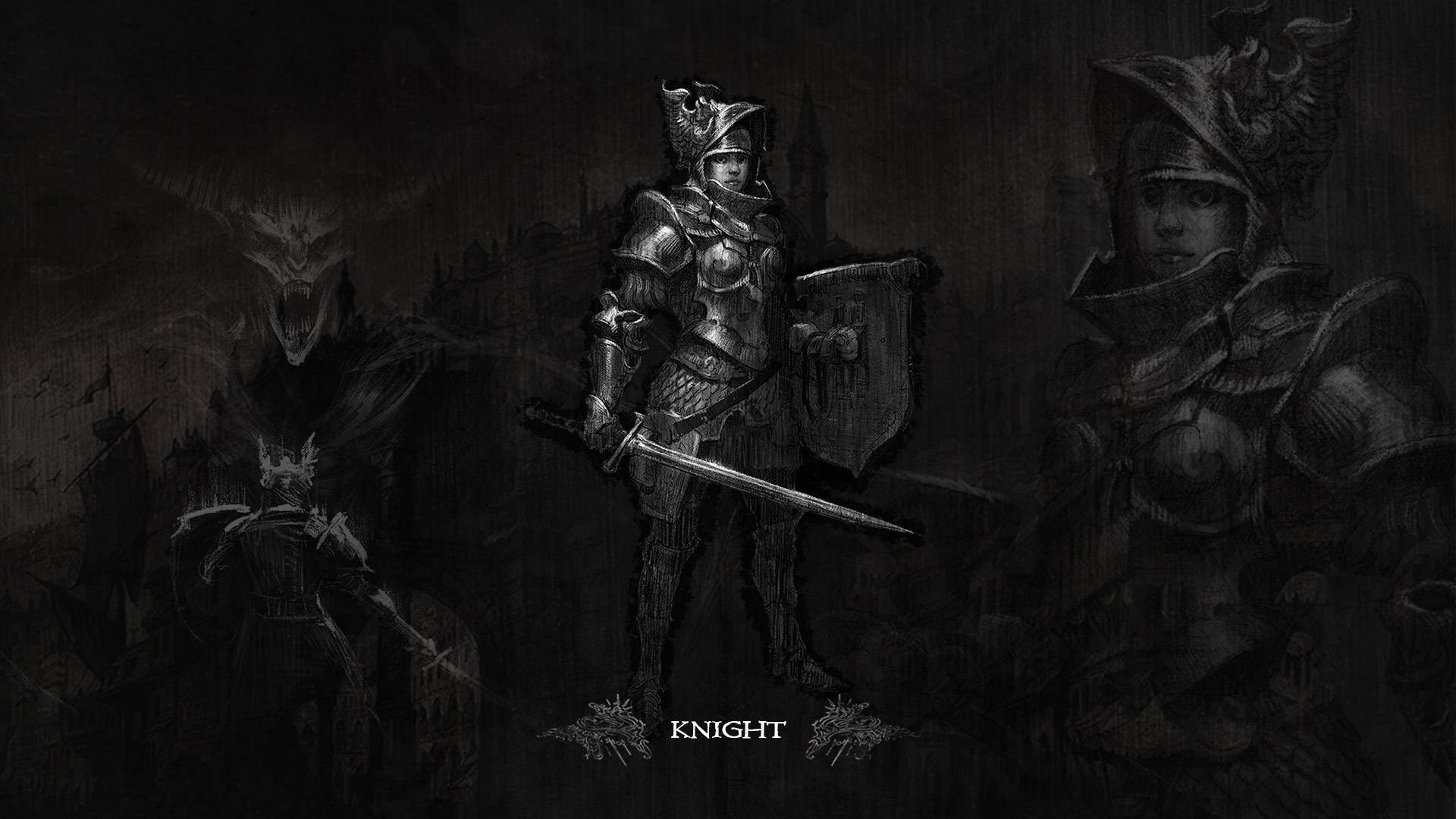 Card 2 of 11Artwork · The Knight