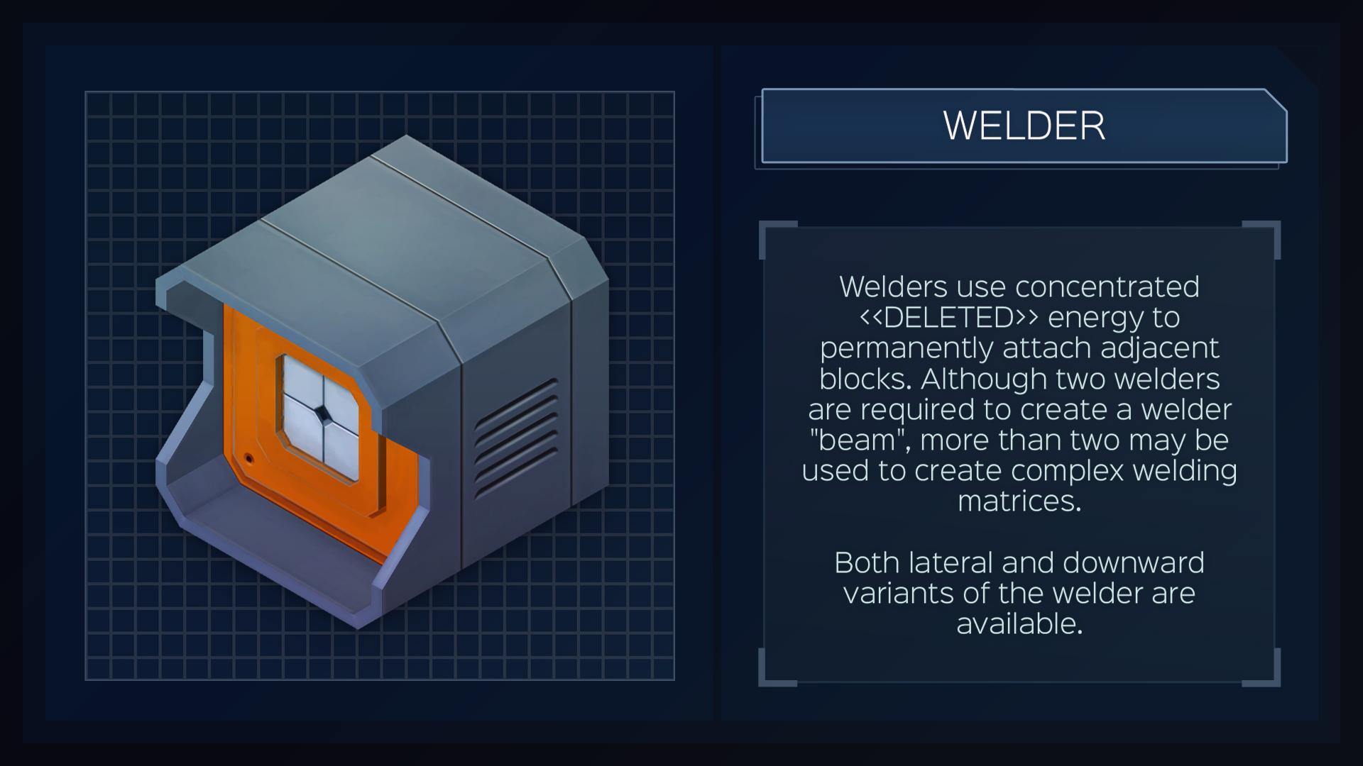 Steam Card Exchange Showcase Infinifactory Kaos Welder Welding 3dimensi