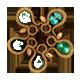 Second emerald