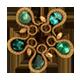 Fifth emerald