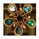 Fourth emerald