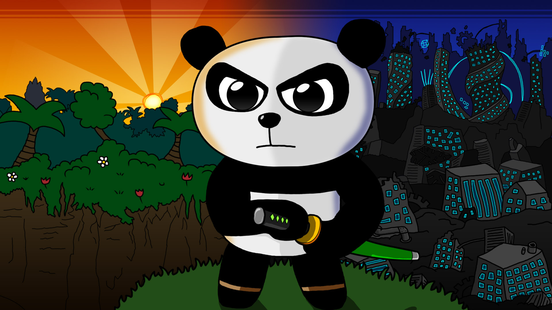 Card 1 Of 6Artwork · Panda Guardian
