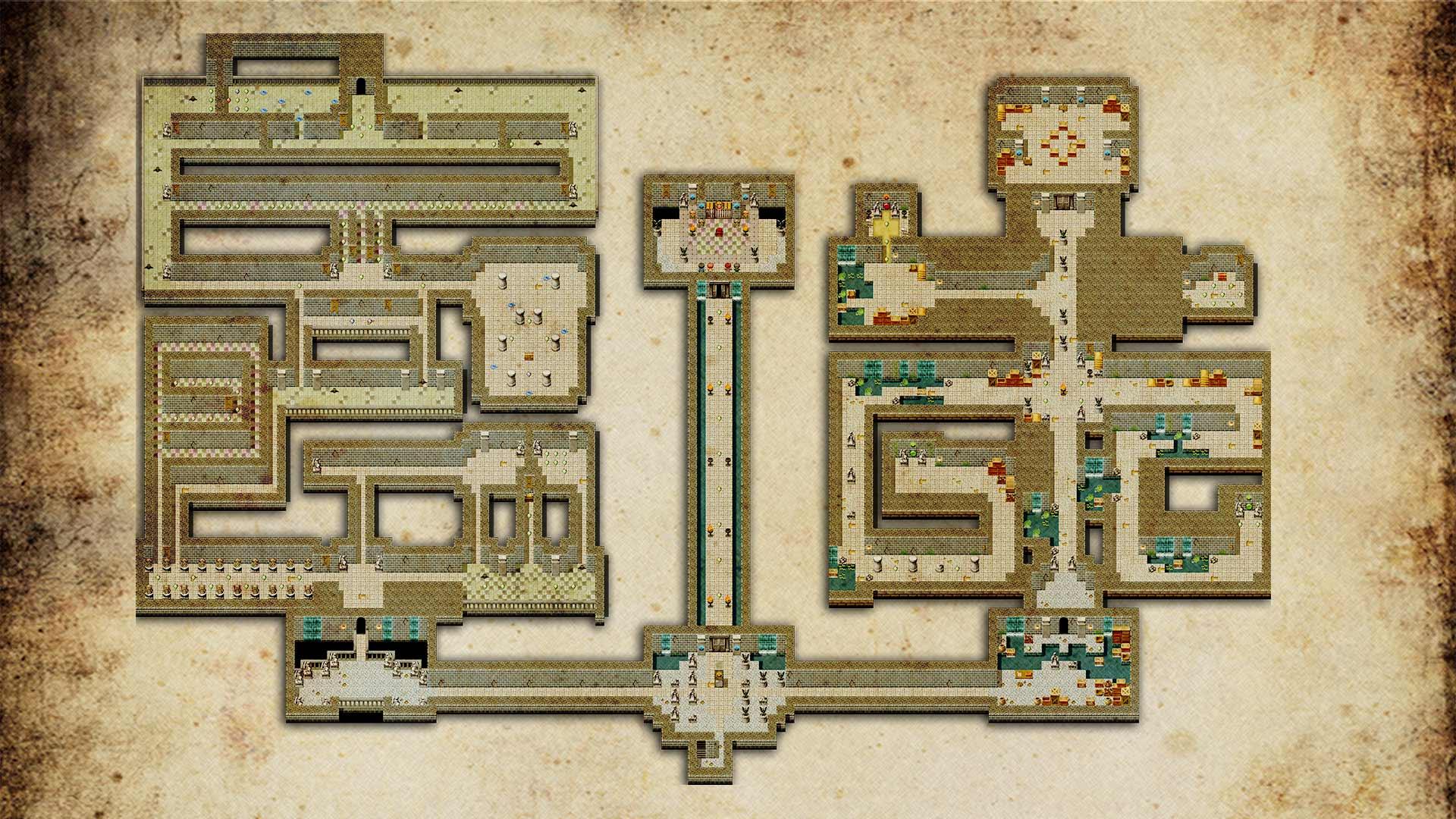 doom and destiny world map