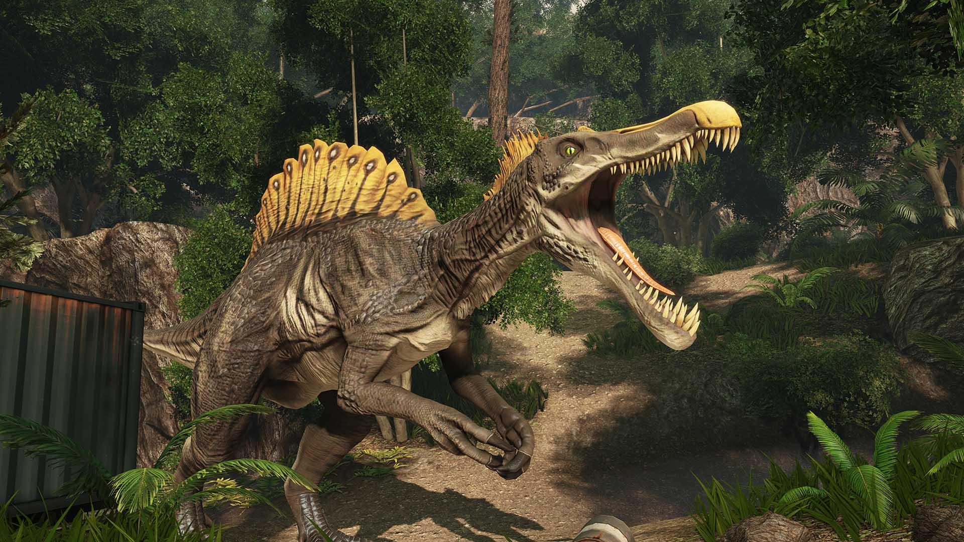 Steam card exchange showcase primal carnage extinction card 6 of 7artwork spinosaurus malvernweather Image collections
