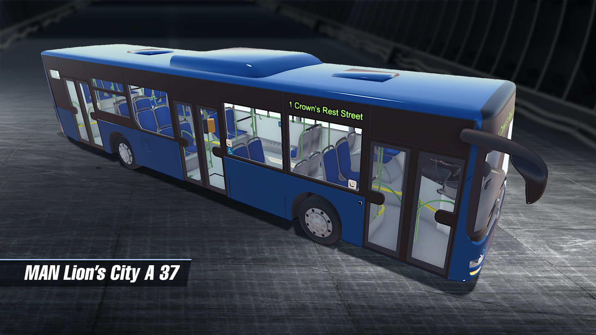 Steam card exchange showcase bus simulator 16 card 5 of 6artwork man lions city a37 malvernweather Image collections