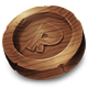 Wood Coin
