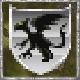 Silver Griffin Emblem