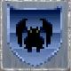 Blue Gargoyle Emblem