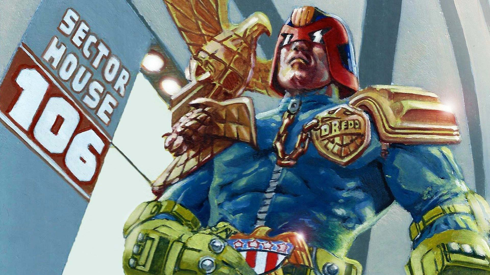 Able Judge Dredd Complete Base Collection Collector Cards Non-sport Trading Cards