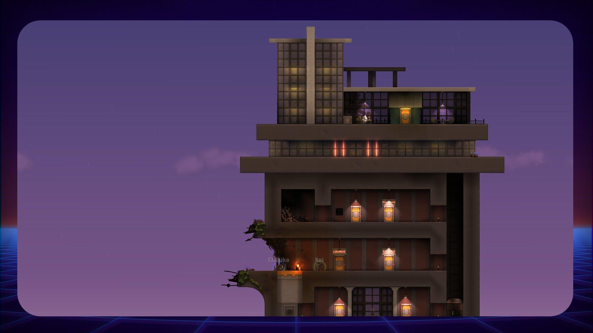 Tayuta building a house