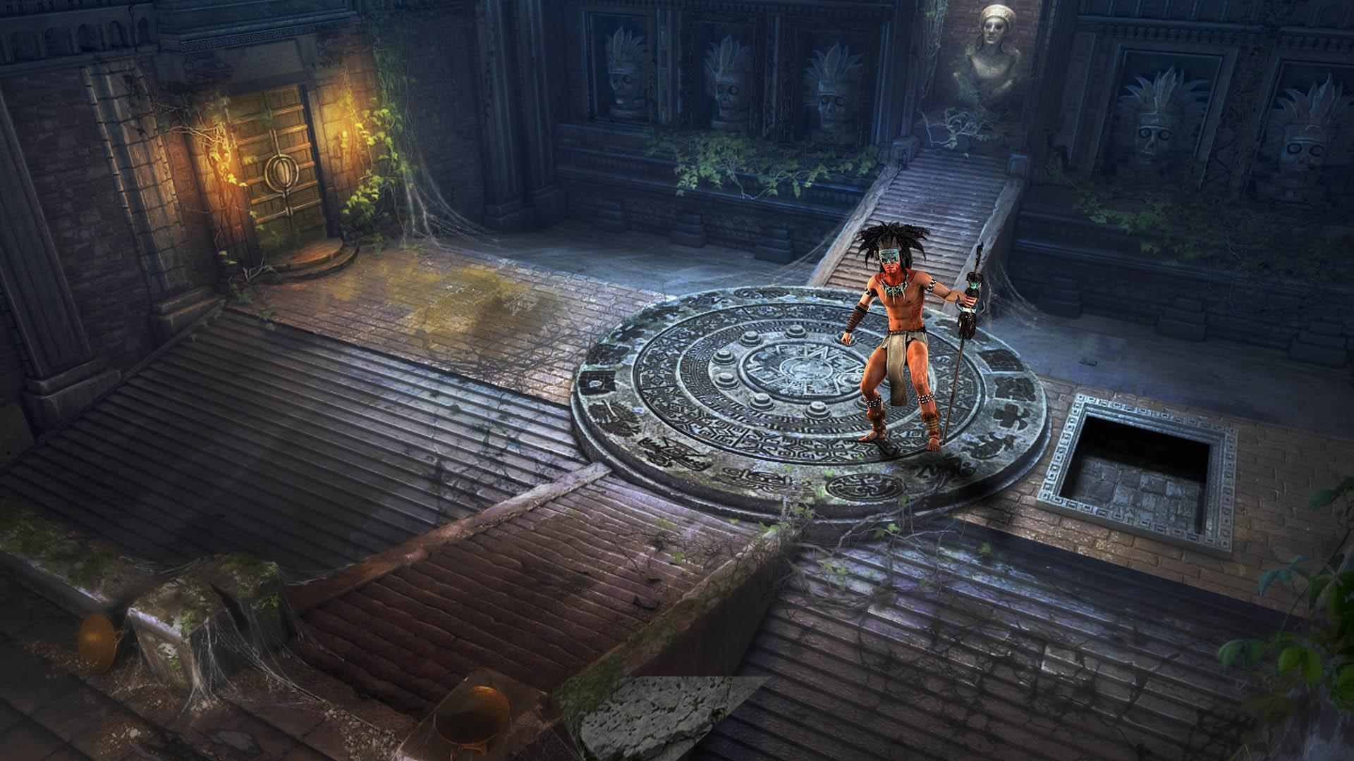 Steam card exchange showcase portal of evil stolen runes card 4 of 5artwork shaman malvernweather Images