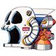 Wily Machine Skull
