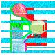 CREO badge - Glitched